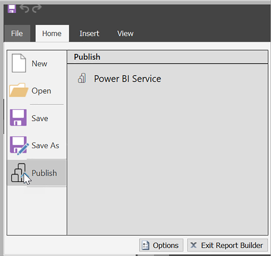 گزارش صفحه بندی شده - Power BI