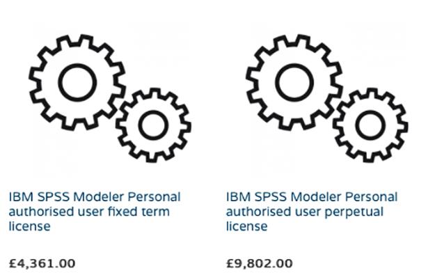 انواع IBM SPSS Modeler