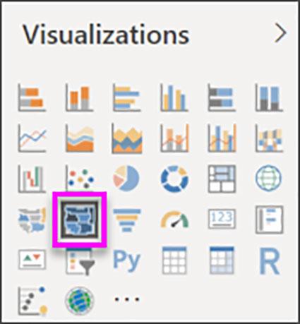 ایجاد تجسم Shape Map در Power BI Desktop